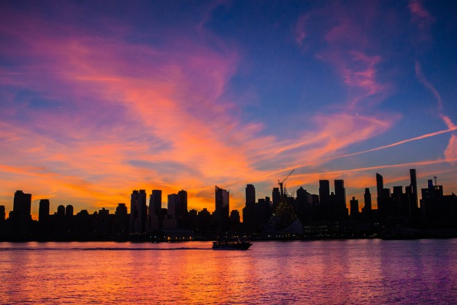"""New York City Sunrise September 16 2015"" by Anthony Quintano is licensed under CC BY 2.0"